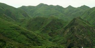 Toneel berglandschap royalty-vrije stock afbeelding