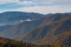 Toneel Blauw Ridge Mountain Landscape royalty-vrije stock afbeelding