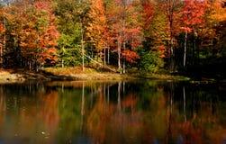 Toneel de herfstlandschap in Pennsylvania Royalty-vrije Stock Afbeelding