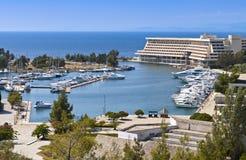 Toneel de zomertoevlucht in Griekenland Royalty-vrije Stock Fotografie