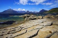 Toneel eiland van skye stock foto