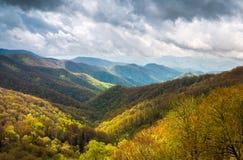 Toneel het Landschapsfotografie Cher van Great Smoky Mountains in openlucht stock foto's