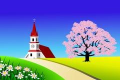Toneel landschap Royalty-vrije Stock Afbeelding
