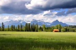 Toneel landschap Stock Foto
