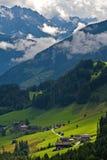 Toneel landschap van Oostenrijk stock afbeelding
