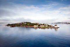 Toneel mening van Alesund (Noorwegen) Stock Fotografie