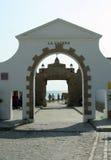 Toneel Meningen van Cadiz in Andalusia, Spanje royalty-vrije stock afbeelding