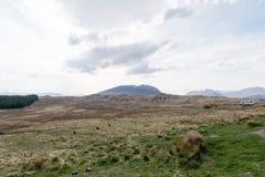 Toneel natuurlijke mening van Schotse hooglanden, het Verenigd Koninkrijk Royalty-vrije Stock Afbeeldingen