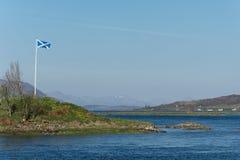 Toneel natuurlijke mening van Schotse hooglanden, het Verenigd Koninkrijk Stock Fotografie