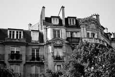 Toneel Parijs Stock Fotografie
