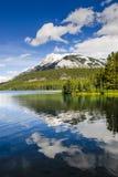Toneel Twee Jack Lake Royalty-vrije Stock Foto's