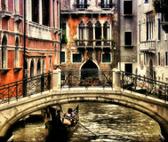 Toneel Venetië Italië Stock Afbeeldingen
