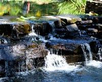 Toneel waterval Stock Afbeelding