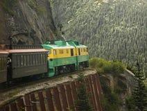 Toneel Witte Pas & Yukon-Route royalty-vrije stock fotografie