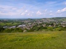 Toneelgloucestershire, Stroud-Valleien royalty-vrije stock fotografie