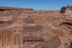 Toneelgrand valt Arizona Stock Afbeeldingen