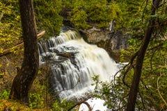 Toneeljones falls van Owen Sound royalty-vrije stock afbeelding