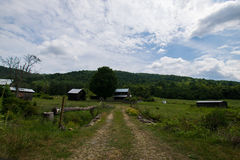 Toneellandschap van Elkton, Virginia rond Nationale Shenandoah Royalty-vrije Stock Afbeelding