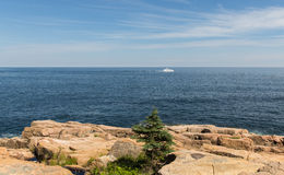 Toneelmaine coastline Stock Afbeelding
