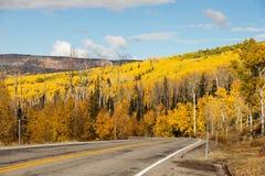 Toneelmening aan de hooglanden op byway 12 in Utah, de V.S. royalty-vrije stock foto