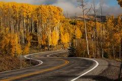 Toneelmening aan de hooglanden op byway 12 in Utah, de V.S. stock foto's