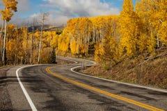 Toneelmening aan de hooglanden op byway 12 in Utah, de V.S. royalty-vrije stock foto's