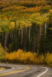 Toneelmening aan de hooglanden op byway 12 in Utah, de V.S. royalty-vrije stock afbeeldingen