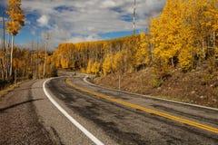 Toneelmening aan de hooglanden op byway 12 in Utah, de V.S. stock foto