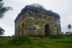 Toneelmening van Bagh Rauza, Ahmednagar, Maharashtra stock fotografie