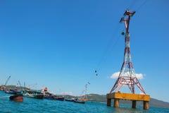 Toneelmening van de oceaan royalty-vrije stock foto