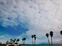 Toneelmening van Santa Cruz Beach, Californië De V.S. Stock Foto's
