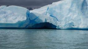 Toneelmeningen van Estancia Cristina en Glaciar Upsala, Patagonië, Argentinië royalty-vrije stock foto