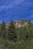 Toneelrotsvorming bij Paomia-het park van de Staat, Colorado Royalty-vrije Stock Afbeelding