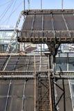 Toneelroute over de daken van Vittorio Emanuele II Galerij Highline Galleria in Duomo-Kathedraalvierkant, Milaan, Italië Royalty-vrije Stock Afbeeldingen