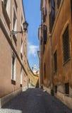 Toneelstraat in Rome Royalty-vrije Stock Fotografie