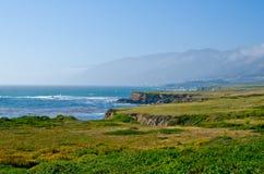 Toneeluitzicht op Route 1 van de Staat van Californië Royalty-vrije Stock Foto