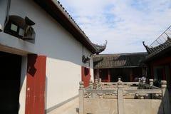 Toneelvlek van langshan in Nantong, Jiangsu-Provincie, China Stock Foto's