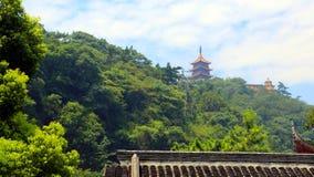 Toneelvlek van langshan in Nantong, Jiangsu-Provincie, China Stock Fotografie