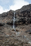Toneelwaterval in het Nationale Park van Tongariro Stock Afbeelding