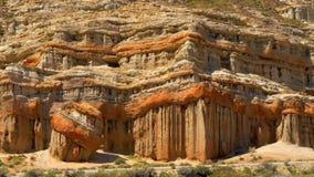 Toneelwoestijnklippen en buttes bij het Rode Park van de Staat van de Rotscanion stock videobeelden