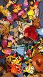 Toneladas de brinquedos imagem de stock royalty free