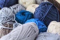 Toneladas de lanas fotografía de archivo
