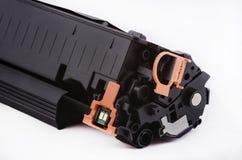 Toner pour l'imprimante à laser réutilisée Images stock
