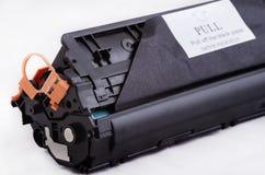 Toner pour l'imprimante à laser réutilisée Image libre de droits