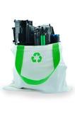 Toner usato della stampante a laser fotografia stock libera da diritti