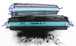 Toner van de printer cartidges Stock Afbeelding