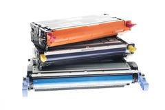 Toners de tirage en couleurs de CMY Image libre de droits