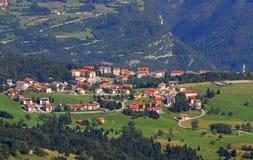 Tonezza del cimone village in the province of vicenza Stock Images