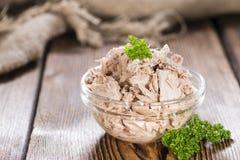 tonfisk på burk arkivbild