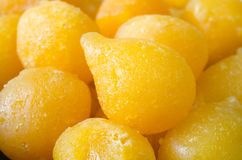 Tong Yod (gocce dolci dei rossi d'uovo) Fotografia Stock Libera da Diritti